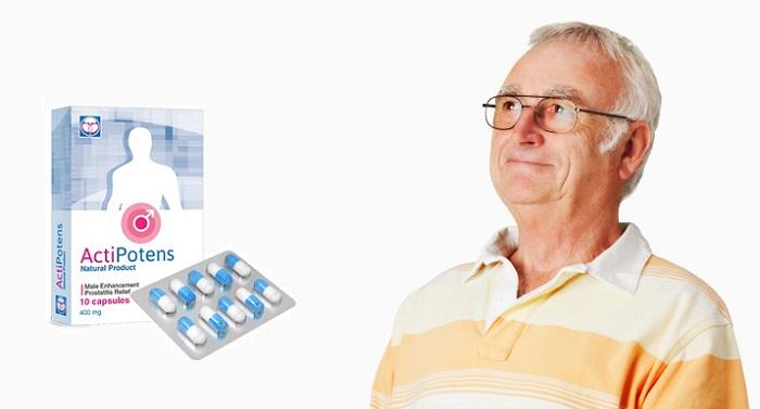 ActiPotens a potencia: gyorsan  normalizálja a prosztata funkcióit  és javítja a merevedést!