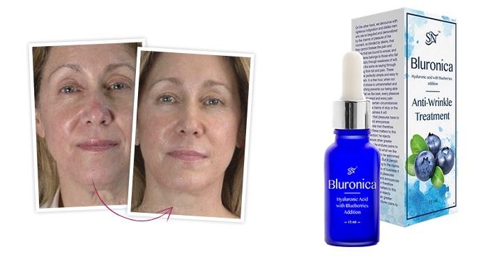 Bluronica a redők: a helyettes bőr öregedése ellen!