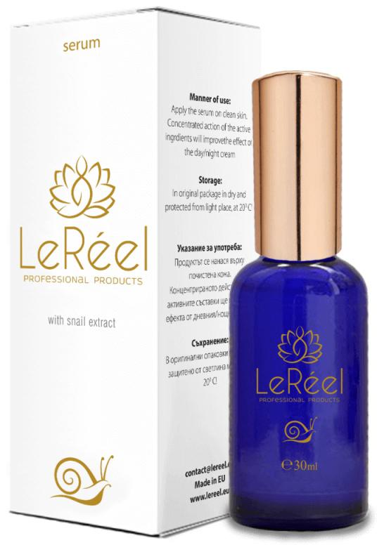 LeReel: forradalmi öregedésgátló formula