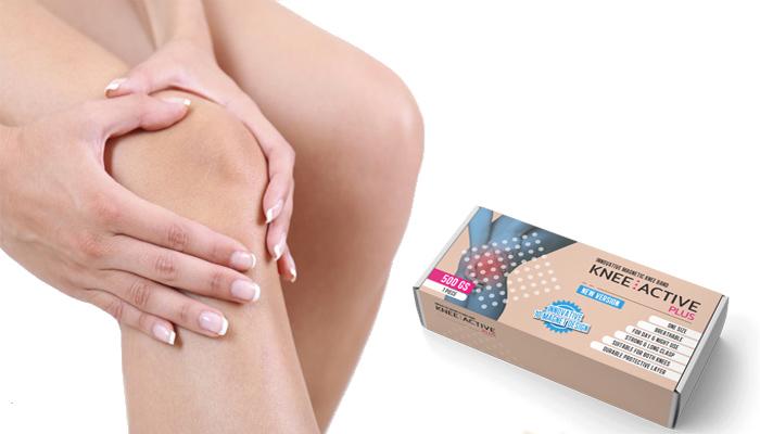 Knee Active Plus: térdstabilizátor mágneses mező technológiával