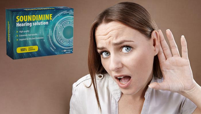 SOUNDIMINE: 4-szer jobb hallás  zúgás és sípolás nélkül!