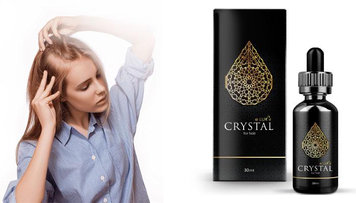 CRYSTAL ELUXIR: megállítja a haj hullást és stimulálja az új haj szálak növekedését!