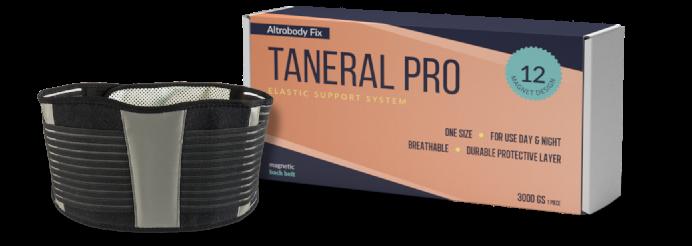 Taneral Pro: véget ért a hátfájdalmak kora!