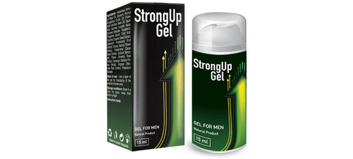 StrongUP gél a potenciára: gél a fényes szexuális élethez