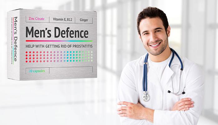 Men's Defence: professzionális kezelési módszer prosztatagyulladásra