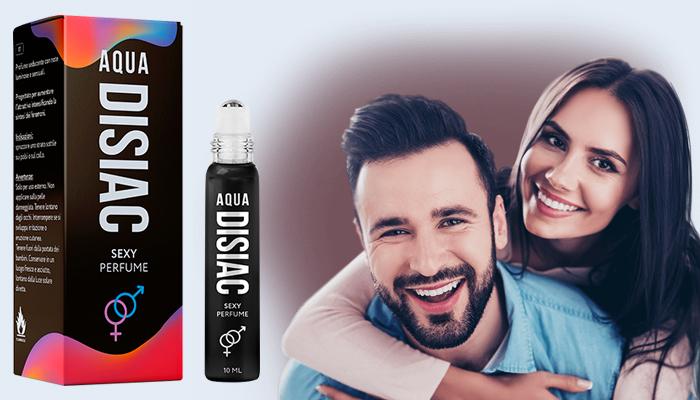 Aqua Disiac feromonalapú parfüm: vágyfokozó