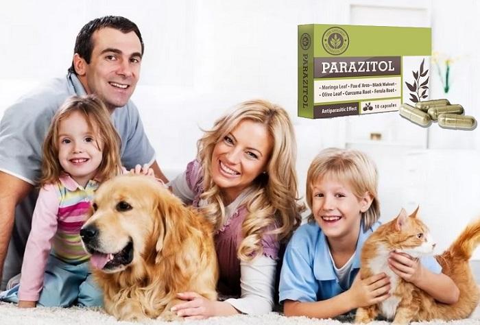 PARAZITOL a paraziták: teljes tisztítása a test 1 fogás!