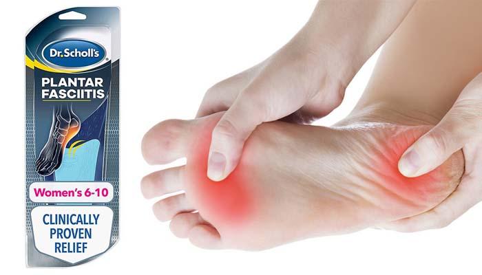 Dr. Scholl: plantáris fasciitis fájdalomcsillapító ortotikumai