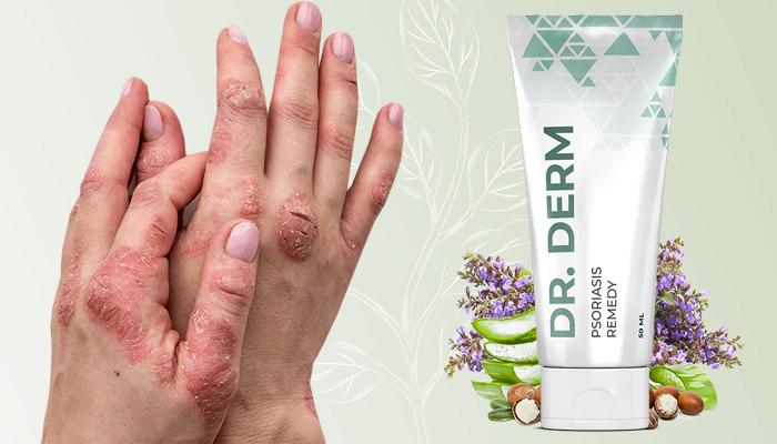 Dr.Derm pikkelysömör ellen: egészséges bőr problémák nélkül