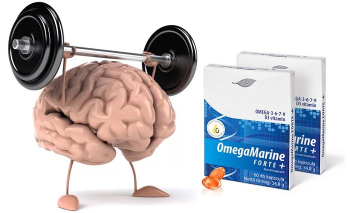 OmegaMarine FORTE+ a memória javítása: elvezze az Omega-3 memóriajavító hatását!