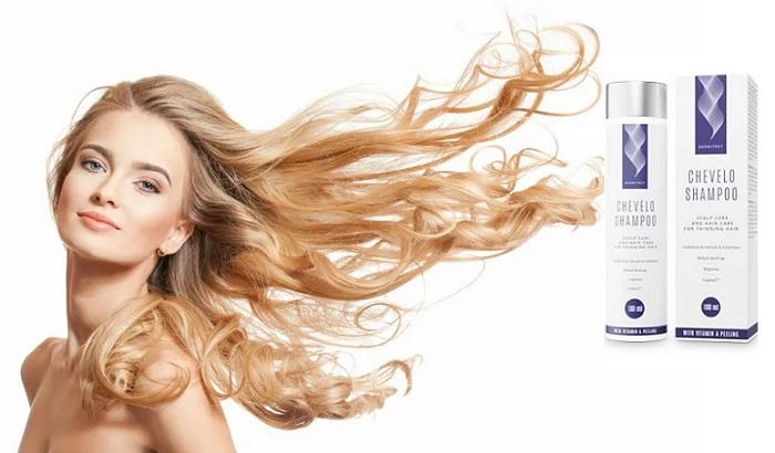 Chevelo Shampoo a hajhullás: vastag, egészséges haj nélkül szalon eljárások!