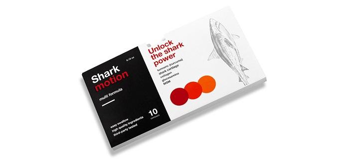 Shark Motion az ízületek számára: betegségek nélküli éle!