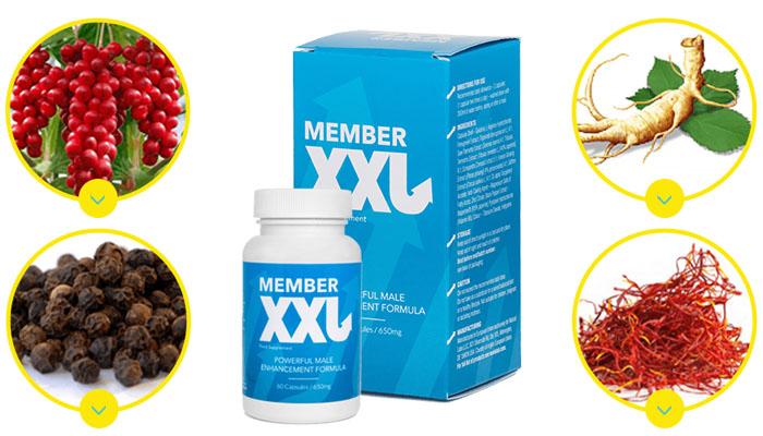 Member XXL a pénisz bővítésére: a férfiasság természetes növelése